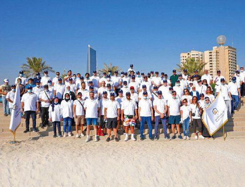 شركة الكويت للتأمين تطلق حملة تنظيف الشواطئ