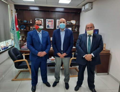 اللجنة التنظيمية لمؤتمر العقبة الثامن للتأمين تلتقي مدير عام هيئة تنشيط السياحة في الأردن