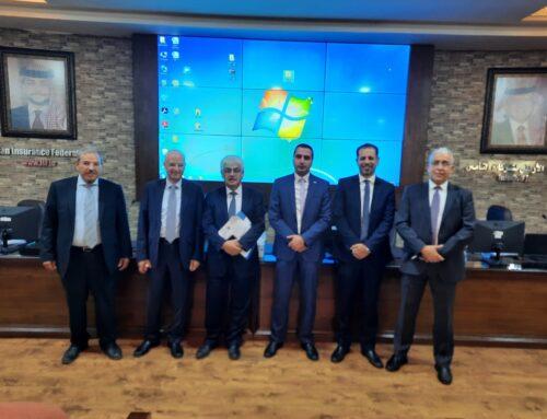 انتخاب السيد مراد حداد والسيد أسامة تقالي لإكمال عضوية اللجنة التنفيذية للجنة المالية في الاتحاد الاردني لشركات التأمين